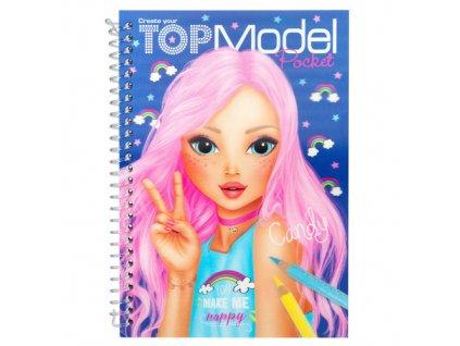 Omalovánky Top Model ASST Candy 9fb2f8288f1