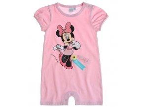 Kojenecký overal Minnie růžový Disney