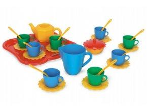 Party World - Tác s nádobím plast 30 ks Wader