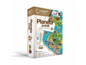 Albi Kouzelné čtení Puzzle Planeta zvířat