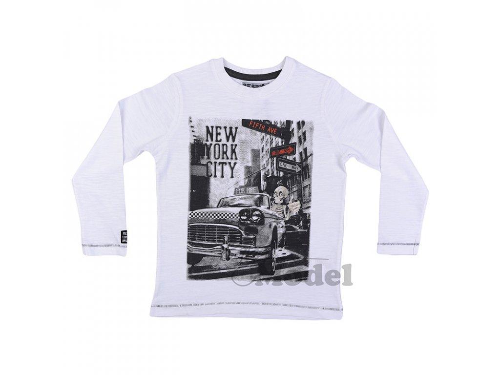 Chlapecké tričko Respect - Dude02 bílé