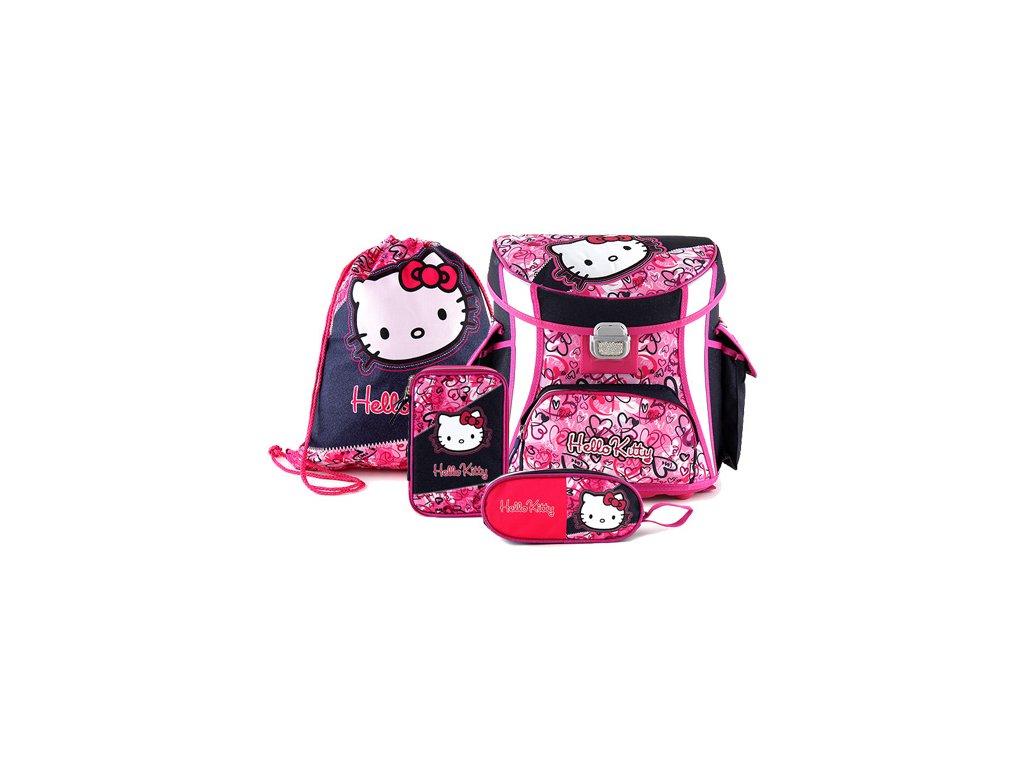 Školní set Hello Kitty 4-dílný