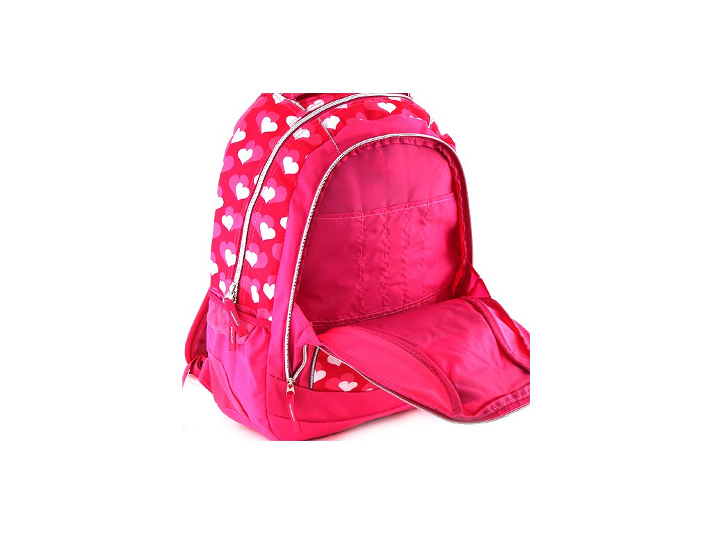 ... Školní batoh Hello Kitty růžový 6fdc22559a