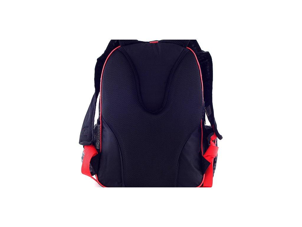 aeb218d15ce ... Školní batoh Bakugan černo-červený