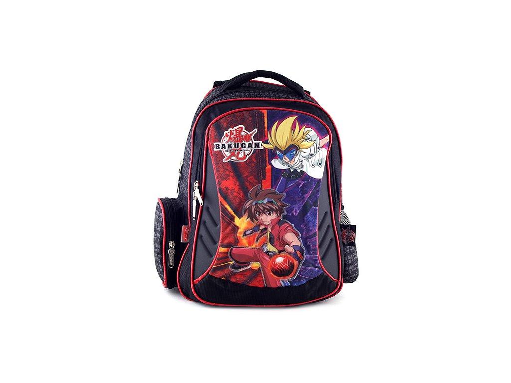d69efe53211 Školní batoh Bakugan černo-červený