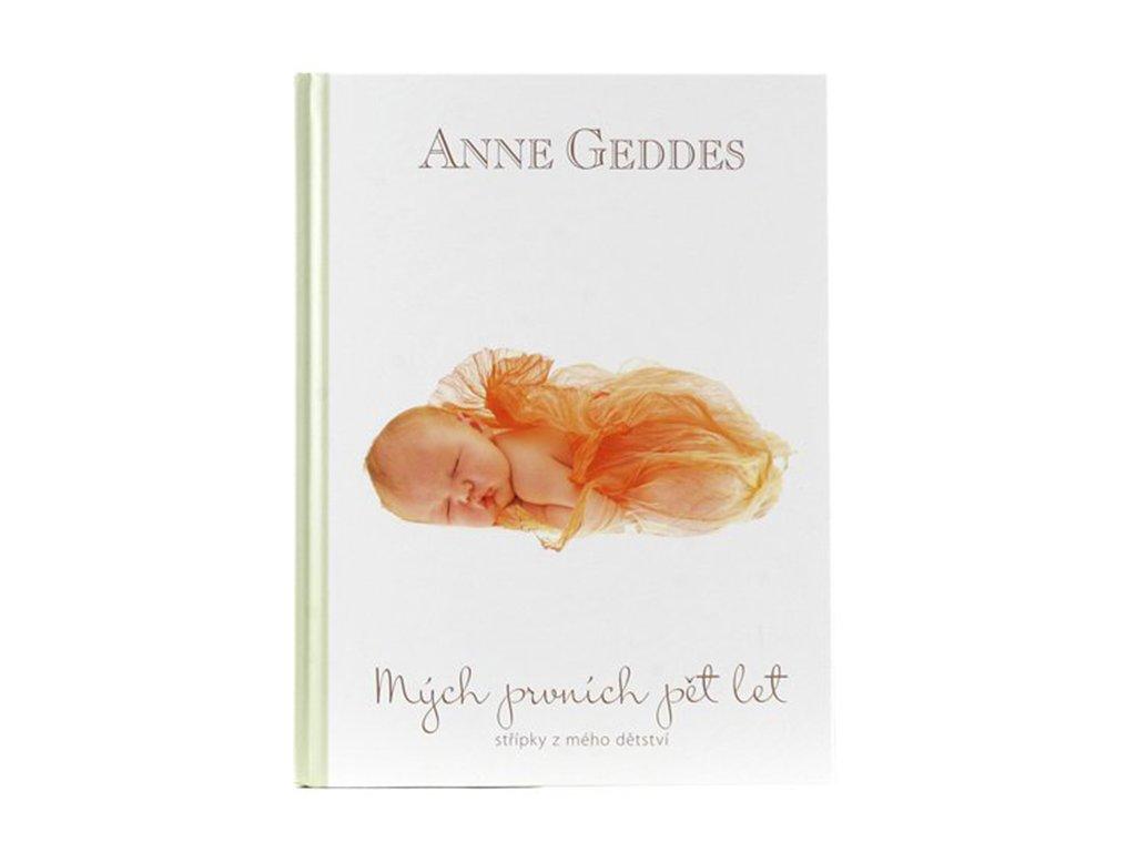 Kniha  Anne Geddes - Mých Prvních Pět Let Elliot