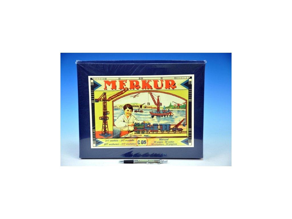Stavebnice MERKUR Classic C05 217 modelů v krabici