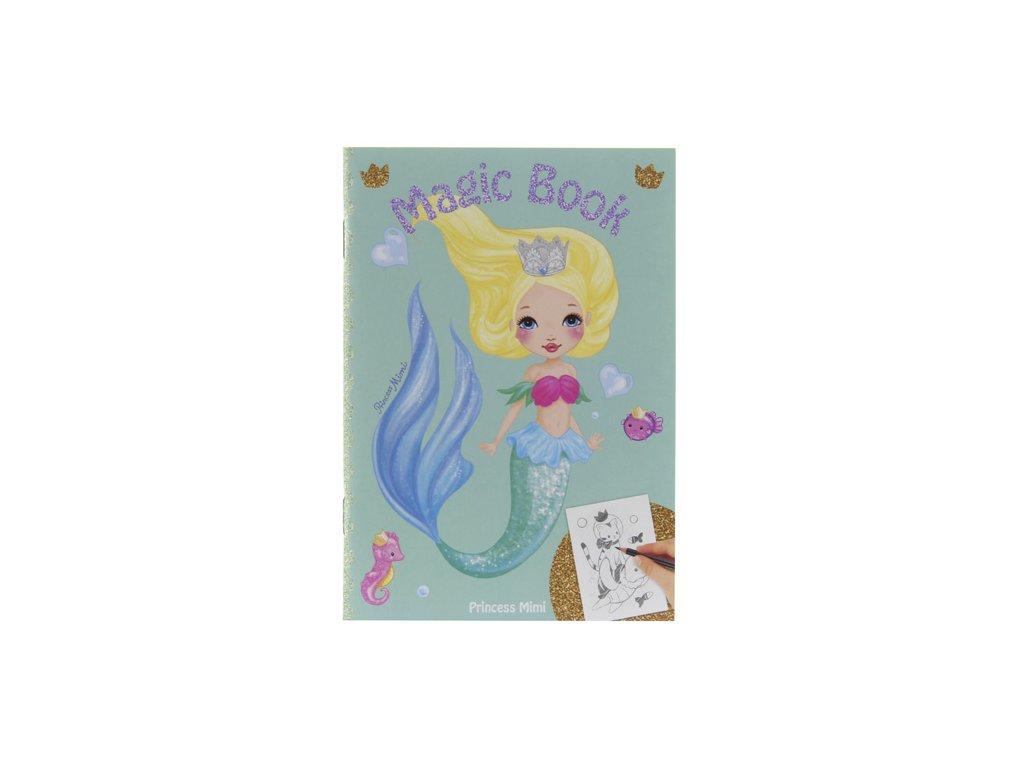 Omalovánka Magic Book My Style Princess Zelená