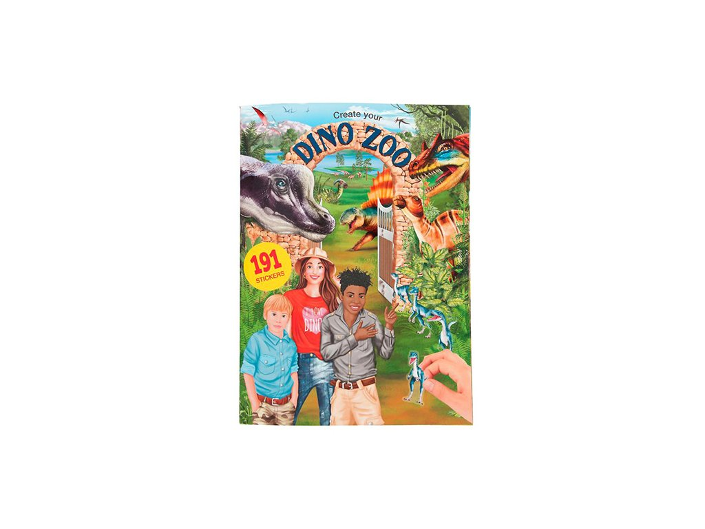 Dino World - Create your Dino Zoo 191 samolepek