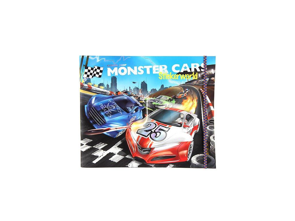 Kreativní set Create Your Monster Cars