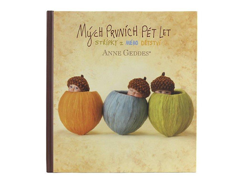 Kniha Anne Geddes - Mých Prvních Pět let - oříšky