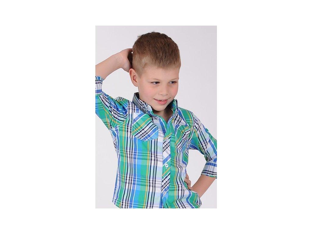 607e48986b6 Chlapecká košile Minoti s dlouhým rukávem · Chlapecká košile Minoti s dlouhým  rukávem