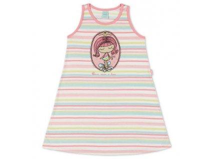 Dívčí noční košilka barevná