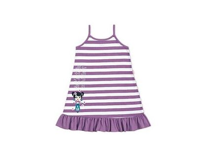 Dívčí noční košilka fialová