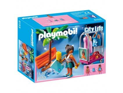Plážové modely Playmobil panáček s doplňky, 42 dílků