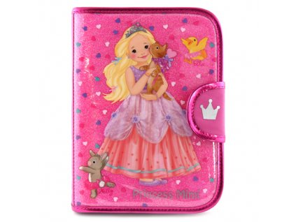 Pouzdro My Style Princess Růžové - s blokem 7e93fc8634