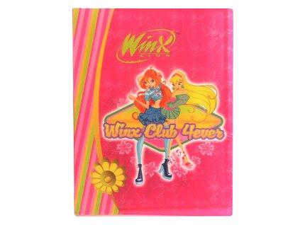Desky A4 Winx Club Desky na dokumenty A4 60 kapes WinX 4ever Bloom&Stella růžov