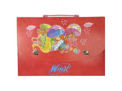 Obal na dokumenty Winx Club Obal na dokumenty L Bloom&Stella&Flora s deštníky