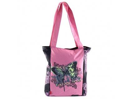 Nákupní taška Target růžová
