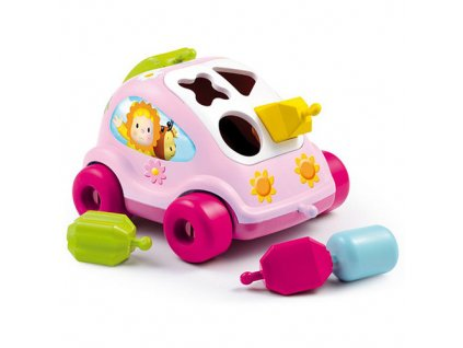 Vkládací autíčko Smoby Cotoons autíčko vkládačka, 2 druhy