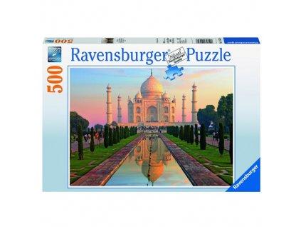 Puzzle Ravensburger Taj Mahal, 500 dílků
