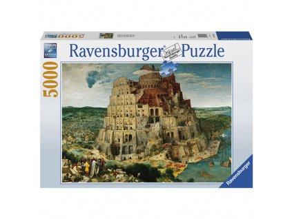 Puzzle Ravensburger Babylonská věž, 5000 dílků