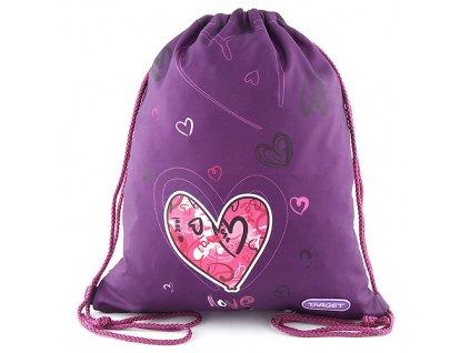 Sportovní vak Target Love, barva fialová
