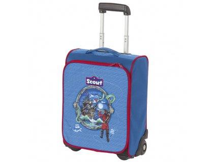 Kufřík na kolečkách Scout motiv lodě, Basic