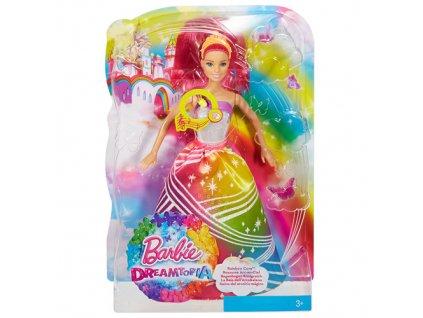 Barbie panenka Mattel Duhová princezna
