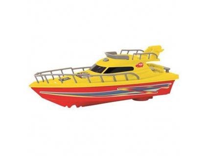 Jachta Dickie 23 cm, barva žluto-červená