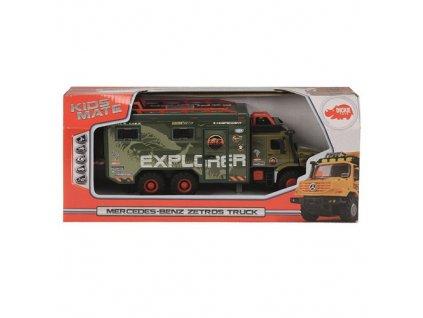 Explorer truck Dickie Explorer truck 24 cm, zelená