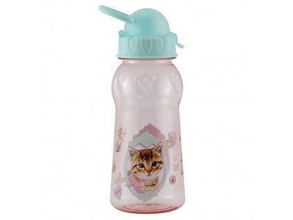 Láhev na nápoje Animal Love pejsek a kočička