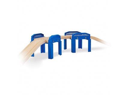 Konstrukce mostu Simba 2 ks - plastové ke kolejím Eichhorn