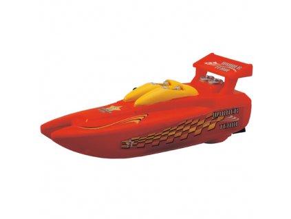 Rychlý člun Dickie Wave Fun, 18 cm, barva červená
