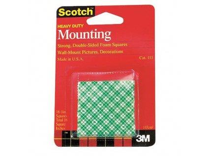 Samolepící pásky Scotch oboustranné 25mm /16ks, Scotch