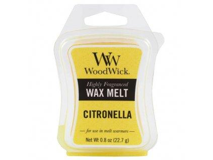 Vonný vosk WoodWick Citronela, 22.7 g