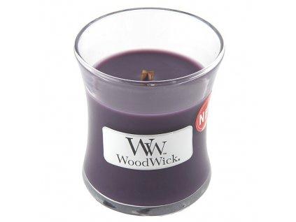 Svíčka oválná váza WoodWick Fík, 85 g