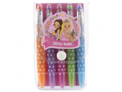 Pero gelové My Style Princess 5 barev/princezna Mimi a Lissy