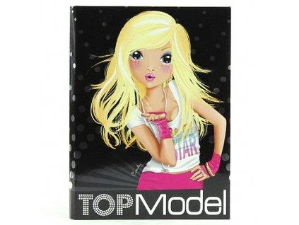 Dopisní souprava a samolepky Top Model