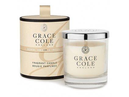 Vonná svíčka Grace Cole Orchidej, jantar a kadidlo, 200 g