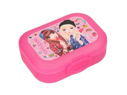 Plastová krabička Top Model Růžová, Hayden & Louise