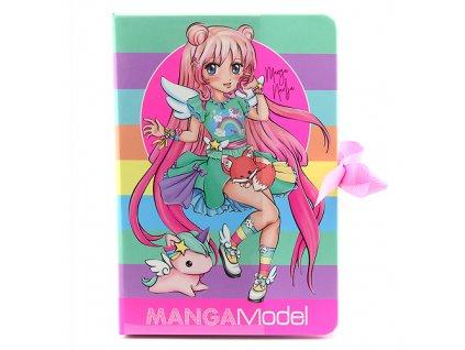 Zápisník s bločky Manga Model Manga Nadja