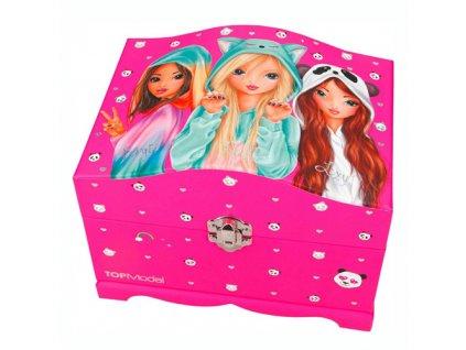 Šperkovnice Top Model Fergie, Nadja a Lexy