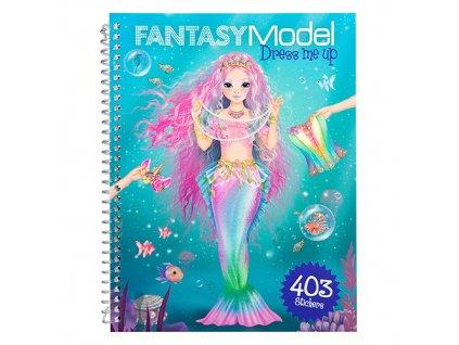 Kreativní sešit Fantasy Model Obleč mě