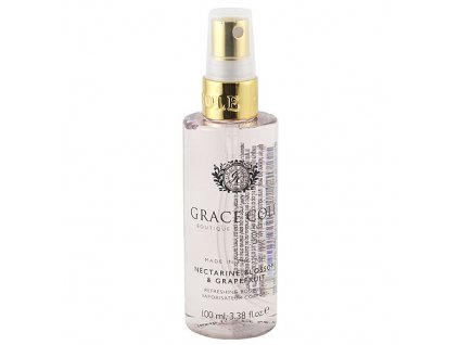 Tělový sprej Grace Cole Květ nektarinky a grep, 100 ml