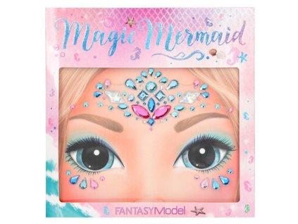 Kamínky na obličej Fantasy Model ASST Kouzelná mořská panna