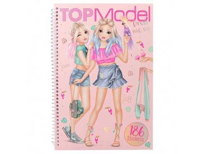 Kreativní sešit Top Model June a Jill