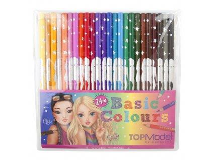 Pastelky Top Model 24 barev