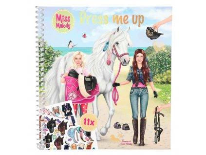 Kreativní sešit Miss Melody Sienna a Miss Melody