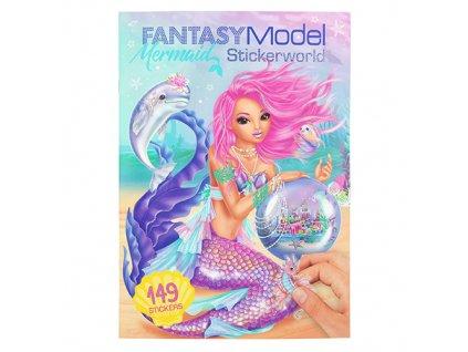 Kreativní sešit Fantasy Model Mořská panna